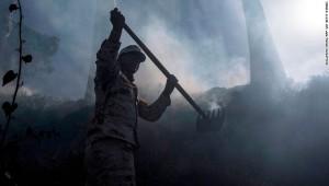 Two dead in Baja California wildfires