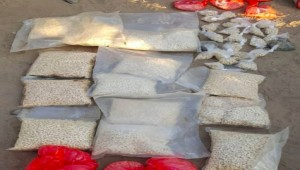 Marib security forces seize drugs headed for Houthi areas