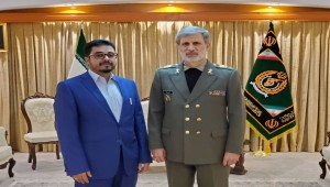 Houthi diplomat meets Iranian defense minister to discuss strengthening military cooperation