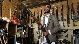 Weapons looted from Yemeni army bases find a diversity of buyers in Aden
