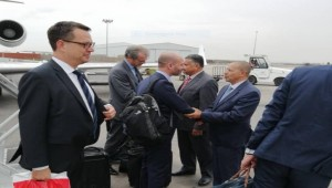 European ambassadors visit Aden to talk Riyadh agreement, financial support