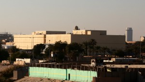 Rockets hit U.S. coalition base in Baghdad, no casualties