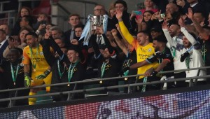 City seal a third consecutive League Cup