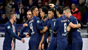 Lyon 1-5 Paris Saint-Germain: Mbappe hits hat-trick to book final spot in style