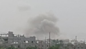Houthi ballistic missile hits residential neighborhood in downtown Marib