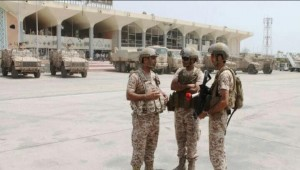 New batch of Saudi-trained Yemeni forces arrive at Aden airport