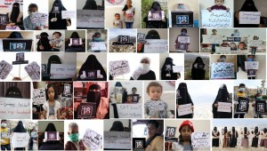 On 'day of the kidnapped Yemeni', Mothers of Abductees hold vigils from their homes