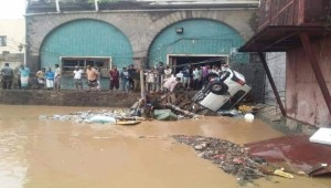 Floods in Aden leave three people dead, including a child