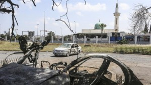 European Union calls for Libya truce, resumption of peace talks