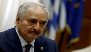 Libya's eastern leader Haftar says army to take formal control