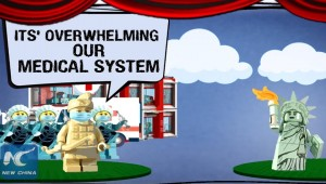 'Once Upon a Virus': China mocks U.S. coronavirus response in Lego-like animation
