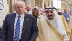 Trump, Saudi king reaffirm defense ties amid tensions