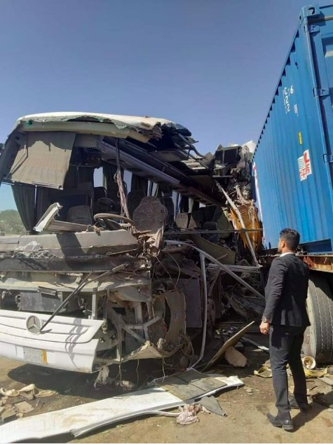 8 dead in Al-Baydha traffic accident