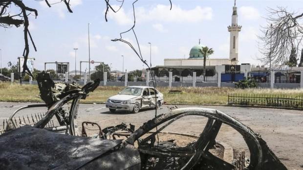 European Union calls for Libya truce, resumption of peace talks