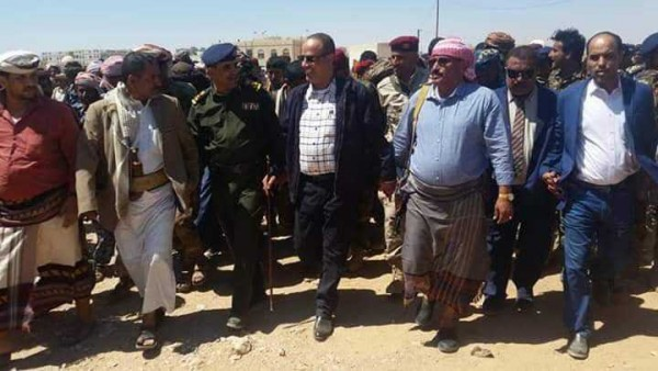 """""""Al-Maysari"""" and """"Jabwani"""" arrived in Ataq In conjunction with news of the signing of an agreement with the Southern Transitional"""