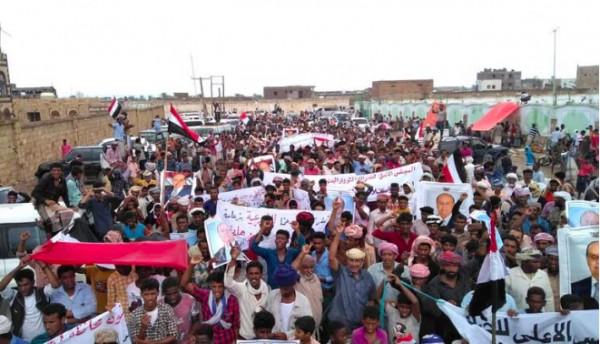 Hundreds demonstrate against UAE in Yemen's Socotra island