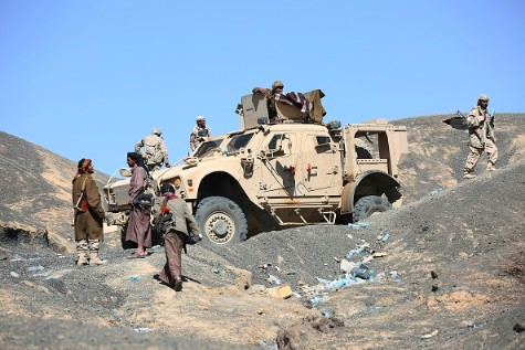 Government forces repel Houthi attacks in Al-Makhdarah, western Marib