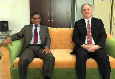 Us ambassador arrives in Mukalla