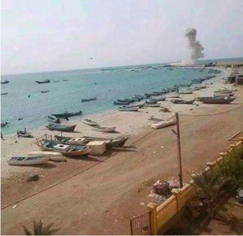Houthis target government guesthouse in Hodeidah