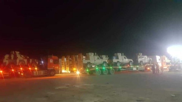 Saudi military reinforcements arrive to Shabwa en route to Aden