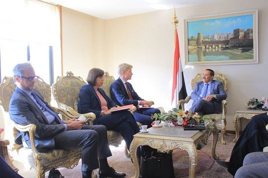 EU delegation arrives in Sana'a to discuss de-escalation and reach a 'comprehensive settlement'