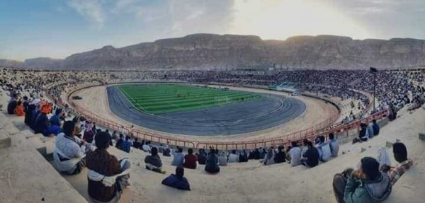 Hadhramout continues to host Yemeni football league matches despite war