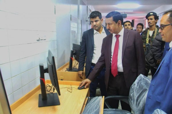 Shabwa governor says oil sales reach $31 million at opening of college research labs