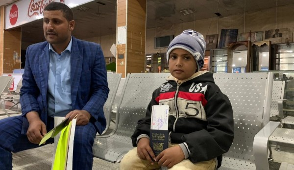 Yemen's first 'mercy flight' departs from Sana'a airport to Jordan
