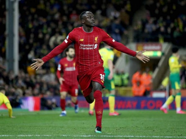 Mané's late goal lifts Liverpool to 25th win in 26 Premier League games this season