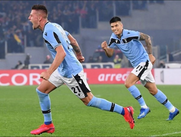 Lazio 2-1 Inter Milan