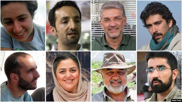 Iran Sentences Eight Environmental Activists On Charges Of Spying For U.S.