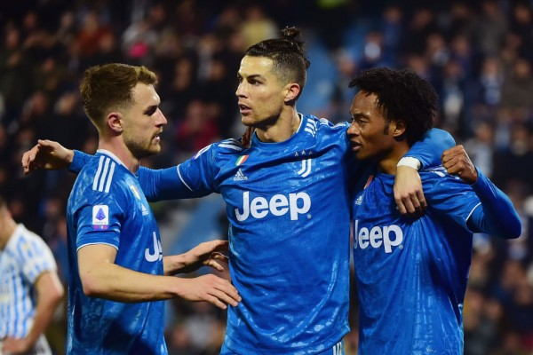SPAL 1-2 Juventus: Ronaldo marks 1,000th appearance with 725th goal