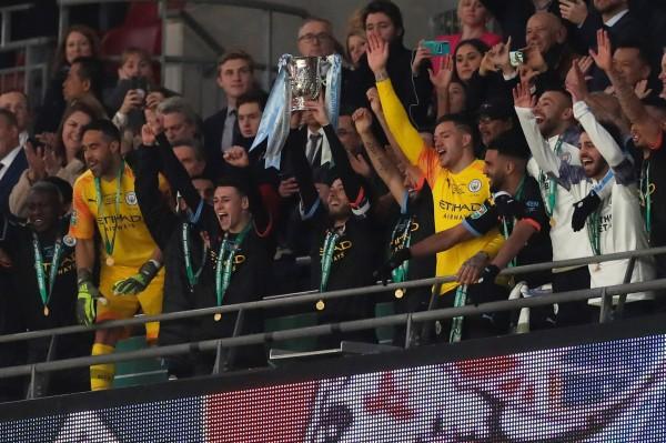 City seal a third consecutive League Cup