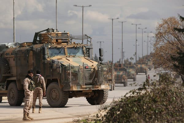 Uneasy calm in Syria's Idlib as Russia-Turkey ceasefire takes effect