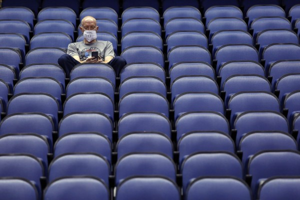 Sports brought to a halt by coronavirus fears