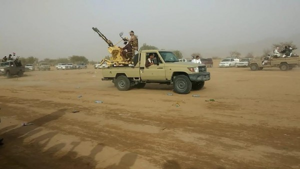 Marib tribe flexes muscle in military parade