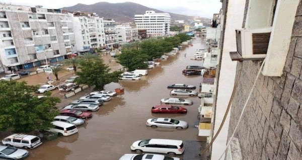 Flash floods hit more than 4,600 displaced families across southern Yemen