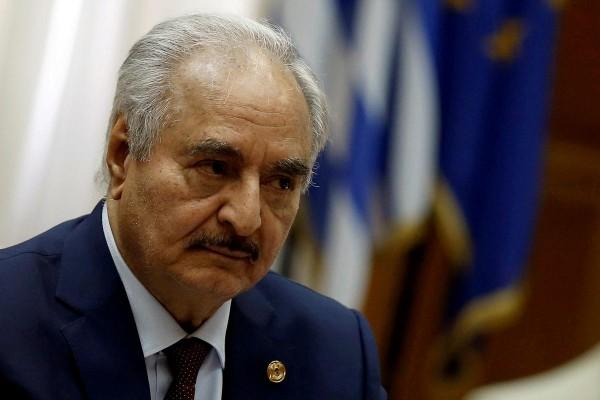 Libya's eastern leader Haftar says army to take formal control