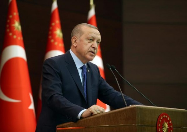 In letter to Trump, Turkey's Erdogan urges better U.S. understanding