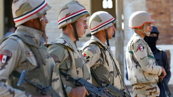 Egypt says 18 suspected armed fighters killed in Sinai firefight