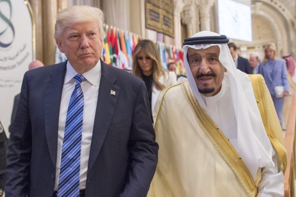 Trump, Saudi king reaffirm defense ties amid tensions