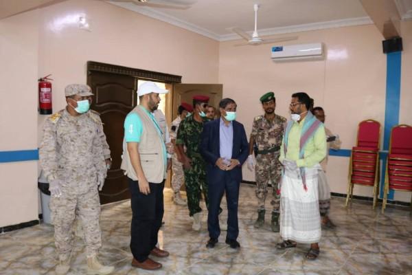 Stranded Yemenis return via Al-Wadea crossing, as new quarantine facility prepared in Hadhramout