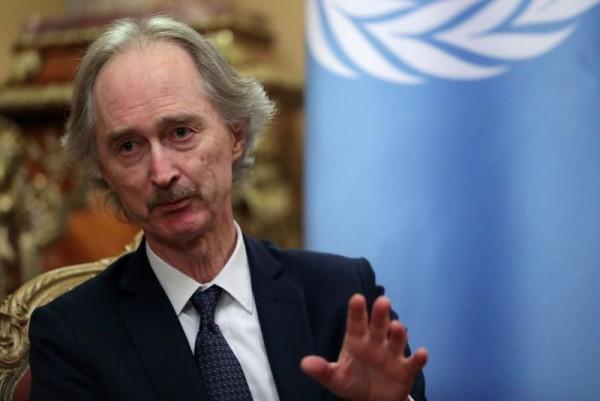 Syria's warring parties agree to Geneva talks: U.N. envoy