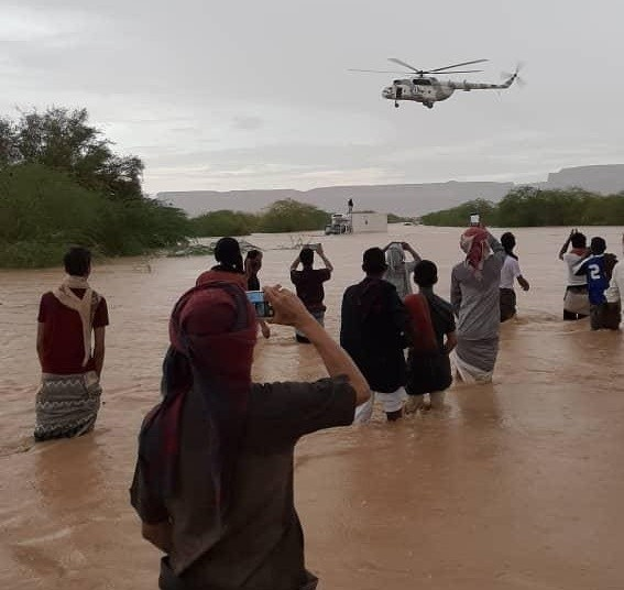 Flooding kills seven, damages homes and farms in Hadhramout