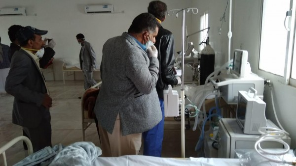 Doctors in Al-Baydha ring alarm bell over COVID-19 spread in the governorate